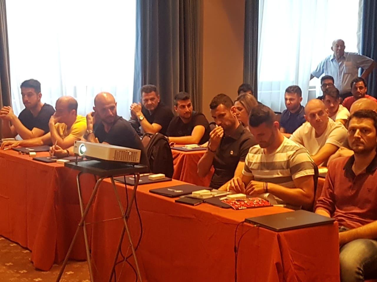 """Ξεκίνησε η σχολή προπονητών """"UEFA C"""" από την ΕΠΟ και την ΕΠΣ Έβρου."""