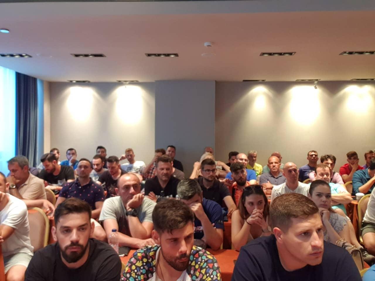 Εναρξη Σχολής Προπονητών UEFA D΄ - Μέρα Πρώτη 8 Ιουνίου 2019