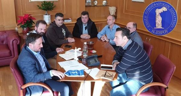 Στο Δήμαρχο Αλεξανδρούπολης Γιάννη Ζαμπούκη η διοίκηση της ΕΠΣ Έβρου