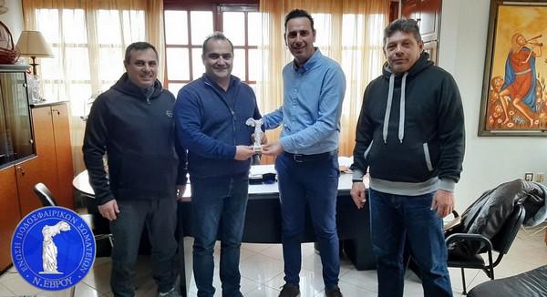 Στο Δήμαρχο Διδυμοτείχου  Ρωμύλο Χατζηγιάννογλου η διοίκηση της ΕΠΣ Έβρου