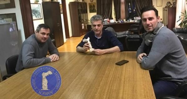 Στο Δήμαρχο Ορεστιάδας Βασίλη Μαυρίδη η διοίκηση της ΕΠΣ Έβρου