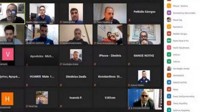 Online meeting με θέμα: «Ενιαίος Προπονητικός Σχεδιασμός στις ακαδημίες της ΕΠΣ Έβρου».